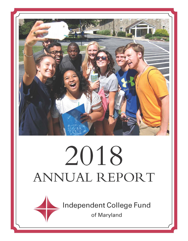2018 Ifund annual report cover