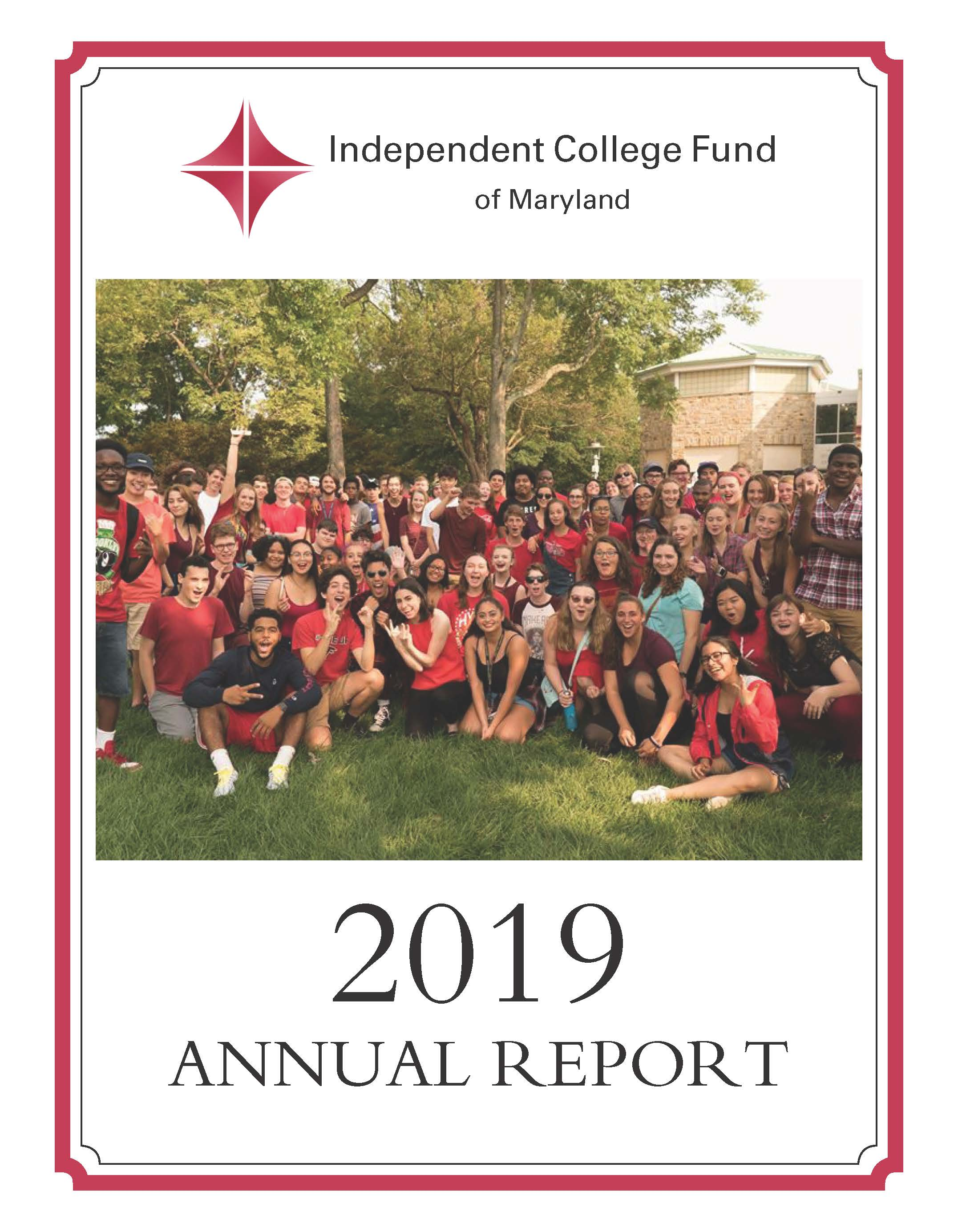 2019 Ifund annual report cover
