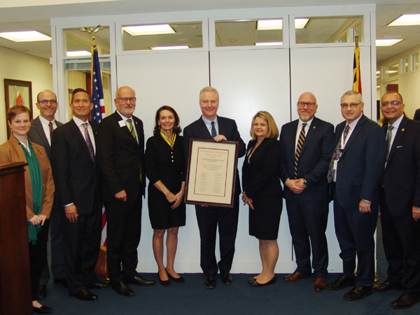 Van Hollen Presidents' Award 2019
