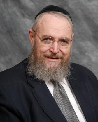 Rabbi Sheftel Neuberger headshot